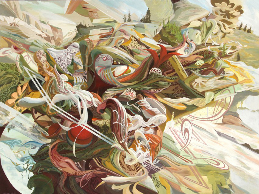 Creative Visual Art | Abstract Paintings by Oliver Vernon
