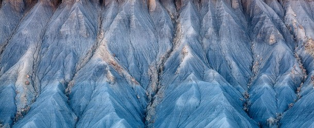Utah's Breathtaking Blue Hills and Painterly Desert