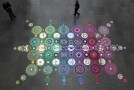 Kaleidoscopic Floor Installations from Suzan Drummen