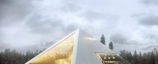 Creative Visual Art | Modern Pyramid House by Juan Carlos ...
