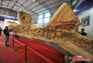 Four Years in the Making: Worlds Longest Continuous Wood Sculpture