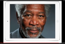 Hyper-Realistic iPad Painting of Morgan Freeman